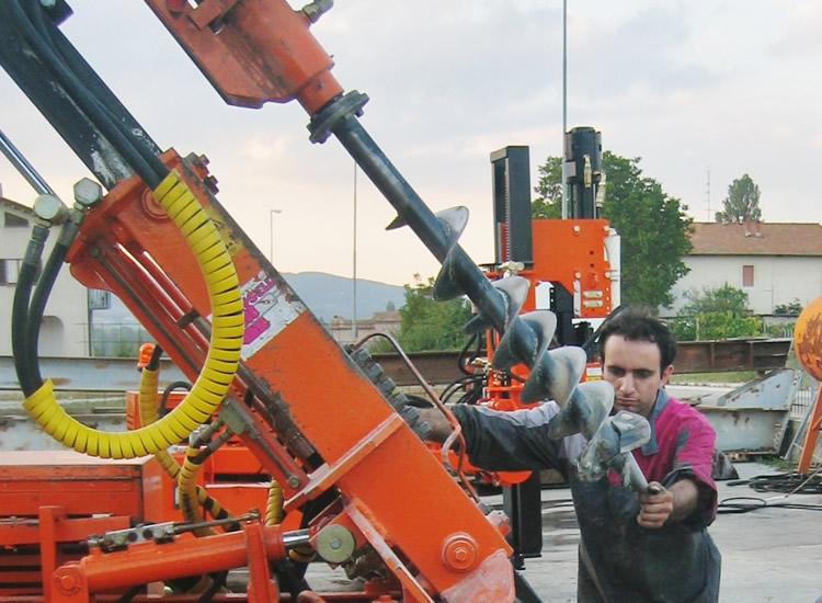 COCLEA - testa di rotazione Pauselli per terreni argillosi