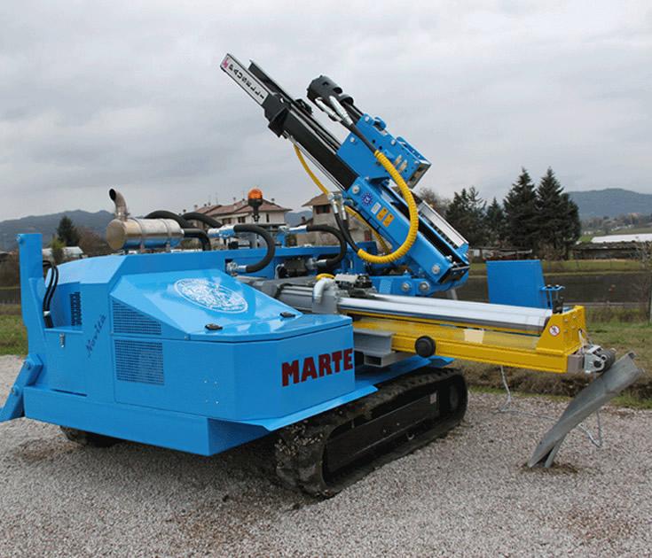 Marte modeli kazık çakma makinesi