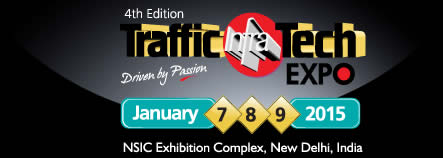 FIERA TRAFFIC INFRA TECH 2015 NUOVA DEHLI
