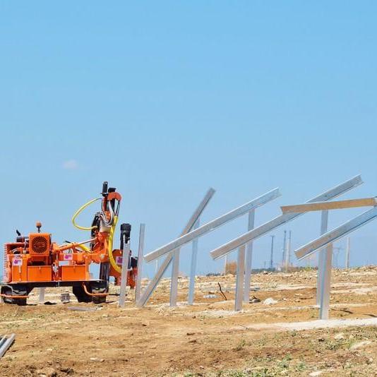 Cakma makinasi Pauselli mod. 700_Solar park in Izmir, Turkey